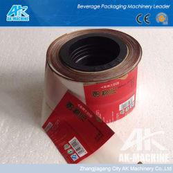 Offre de matériel de l'OPP autoadhésif imprimé l'étiquette avec les rubans adhésifs Retour