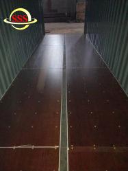 Pavimentazione del compensato del contenitore del bambù di certificazione 28mm della BV