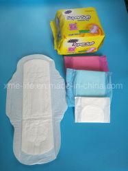 Super doux 290mm serviette hygiénique avec des prix concurrentiels d'emballage de Nice