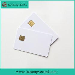 두 배는 인쇄할 수 있는 Sle4442 칩 PVC 카드 편든다