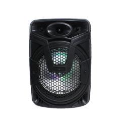 indicatore luminoso variopinto di as-8A OEM portatile ricaricabile senza fili di plastica Guangzhou dell'altoparlante di Bluetooth di 8 pollici
