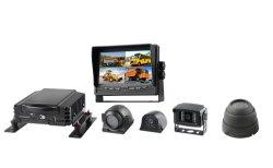 El disco duro de 4CH Car Kit Mdvr con doble Tarjeta SD compatible con 3/4G, GPS y Wi-Fi