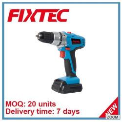 Fixtec 전력 공구 14.4V 리튬 건전지 10mm 코드가 없는 교련 기계 수공구 장비
