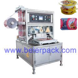 Nahrungsmittelverpackung/verpackende manuelles Tellersegment-Dichtungs-Maschine