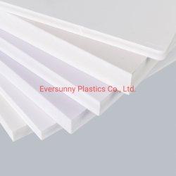 3mm 1220*2440mm de PVC blanco Celingbuilding material grabado en el panel de pared libre de productos de plástico de espuma Foamex Celuka Forex carteles Sintra Chinasupplier Hoja de techo