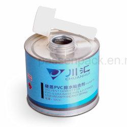 100ml Conteneur d'étain métal pour le PVC Gomme à mâcher de la colle l'emballage (PPC-AC-0106)