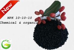 Hochwertiger NPK-Dünger mit chemischen Granulaten