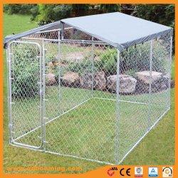 Große Hundegroßhandelshundehütte geschweißter Maschendraht-Zaun