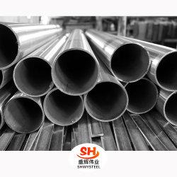 Restes explosifs des guerres ss AISI/Sarw/LSAW Matériaux de construction 201, 304, 316, 316L, 321, 904L soudés en acier inoxydable/stock de tuyaux en acier sans soudure