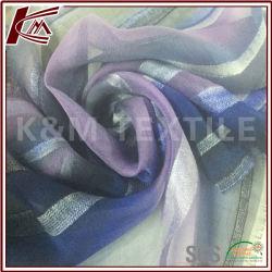 Não ser estática ou Pilling Tecido Blend de raiom de seda