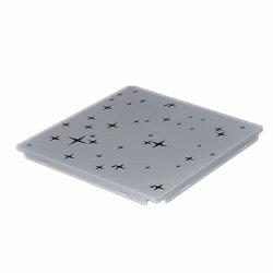 Новый лежит в металлические потолочные системы алюминиевых потолочные плитки 600X600