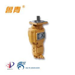 Alta Pressão Hidráulica Tandem Jhp Engrenagem Dupla da Bomba de Transferência de óleo para máquinas de construção