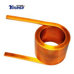 Air Core inducteur de bobine de fil plat inducteur à courant élevé