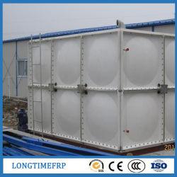 Réservoir d'eau en plastique en fibre de verre contenant de l'eau SMC 20000L