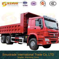 Verwendete Kipper mit 10 der Rad-HOWO Hochleistungs-mittlerer Aufzug-bestem Zustands-konkurrenzfähiger Preis-heißem Verkauf LKW-China-des Lastkraftwagen- mit Kippvorrichtung6x4 bei Afrika