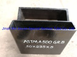 La norme ASTM A53 creux carré doux de l'article 4130 Tube en acier