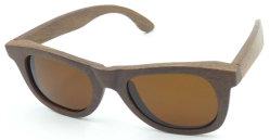 Fw17228 barato al por mayor gafas de sol de bambú MOQ bajo el logotipo de láser