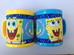 Coupelle en plastique de haute qualité 3D de promotion de l'ABS PP PVC Mug OEM (mug-067)