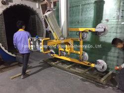 Elevatore di vuoto per il trattamento ed elaborare del vetro pesante e grande