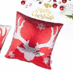 Веселого Рождества моды пайетками подушки для дома на диване 100% полиэстер мягкого бархата ткань кресло подушки подушки в случае площади декор подушки подушки