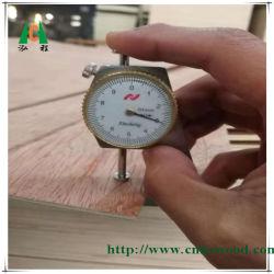 Tábua de madeira compensada de folhear fabricados na China