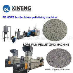 Rifiuti PP PE LDPE HDPE BOPP Film sacchetti tessuti flacone Scaglie riciclaggio acqua fresa ad anello/a tagliabasette a vite singola/a doppia fase Granulato macchina per la produzione di pellets