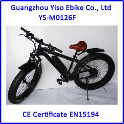 Bici eléctrica del senderismo de la montaña gorda de 26 pulgadas