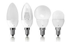 회랑 조명용 실내 조광 C37 램프 LED 캔들 전구