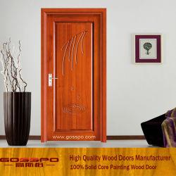 Дверь комнаты Veneer MDF с высекать цветка (GSP8-007)