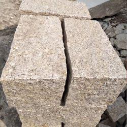 Luz amarilla pavimentadora Curbes granito G654/G603/G682 Pinapple cubos de pavimento