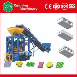 Дом планы4-24 Qt использовать конкретные цемента полого кирпича машина для формовки бетонных блоков для продажи в Индии