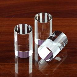 敏感なK9水晶円シリンダー、水晶コラム、水晶柱