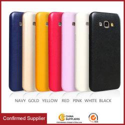 Luxe en cuir de PU ultraminces Smart Cache arrière de cas de téléphone mobile