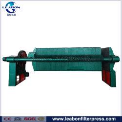 Chambre PP filtre presse mécanique pour l'intermédiaire médical