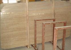 Travetine piastrelle o decorazione marmo beige all'ingrosso Travetine piastrelle pavimenti