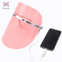 Homeuse 3 색깔 마스크 들기 아름다움 기계 PDT LED 온천장 광고 방송을%s 가벼운 치료 가면