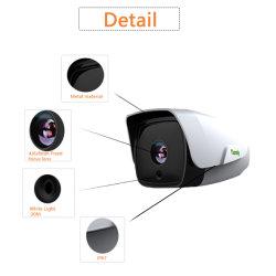 Tiandy Полноцветный сигналов камера ночного видения CCTV камеры 2 МП для использования вне помещений IP-камера Bullet сумеречного света звезд камера для видеонаблюдения