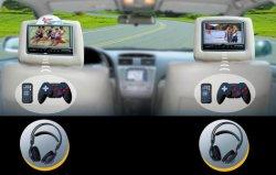 Appui-tête de voiture Moniteur LCD avec lecteur de DVD à l'intérieur (AV7000DVD)