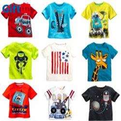 بالجملة طفلة ملابس أسرة بنتك علامة تجاريّة مظهر قميص مضحكة يطبع [تشيرت] قمزة 100% قطر فتى أطفال جديات طفلة لباس طفلة ملابس