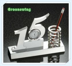 15 ans SOUVENIR Cadeau d'horloge de bureau (GS-441)