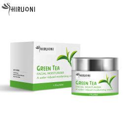 Soem-natürliche grüner Tee Anti-Akne Feuchtigkeitscreme, die Gesichts-Sahne weiß wird
