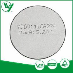 インドの市場のZnOの酸化亜鉛のVdrの抵抗器のバリスターディスク