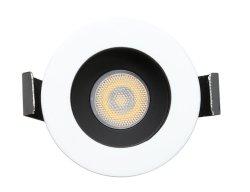 Black & White Hotel Housing Living Room LED COB Downlight فتحة سقف غائرة ذات 3 واط مع إضاءة صغيرة