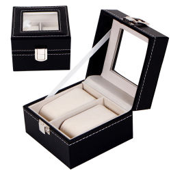Cajas de relojes High-Grade 2/3/6 /10/12/20/24 Relojes de lujo recibe un caso