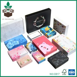 Boîte en carton ondulé certifiée FSC&Handmade Case, de conditionnement de produits personnalisés