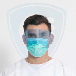قناع الوجه مع Eyeshield، قناع الوجه الجراحي/المضاد لالضباب، قناع الوجه المقاوم للرذاذ