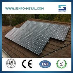 タイル屋根の太陽電池パネルのモジュールの土台システム