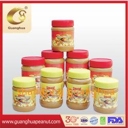 Manteiga de amendoim crocante de bom gosto delicioso saudável