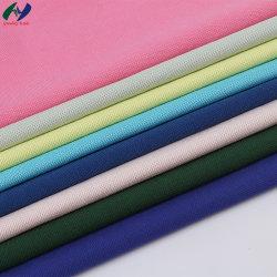 Venda por grosso de tecido camisola novidade 66%T34%C urdidura do tecido Piqué de tricotar