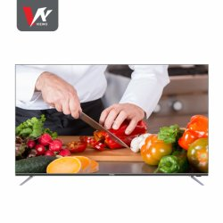 "Home TV 55"" 4K UHD Diseño sin cerco TV LED LCD con sistema Digital televisor inteligente Android 9.0"